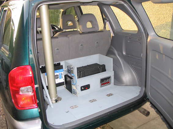 Weather Station RAV4 boot