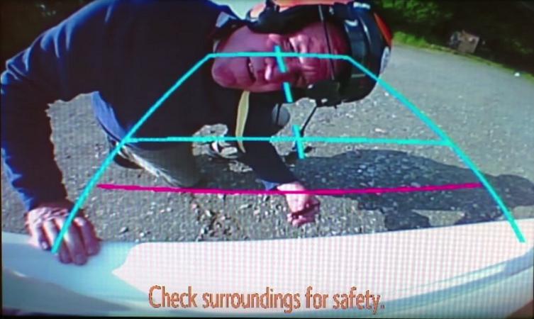Toyota Yaris Reversing Camera
