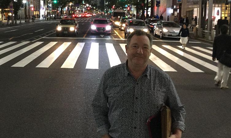 Bill Callaghan in Ginza
