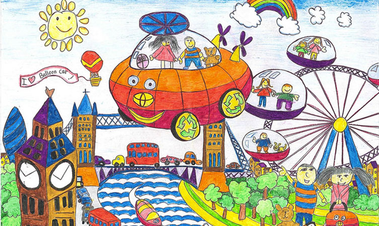 Toyota Dream Car 2016 Art Contest Open Toyota
