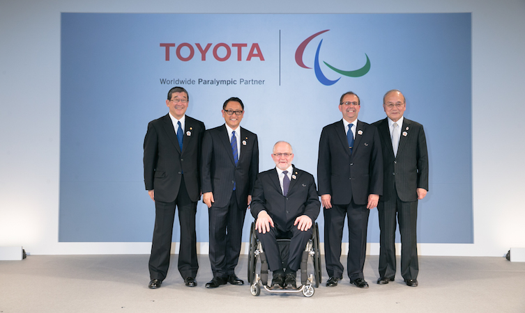 Toyota Paralympic Games sponsor