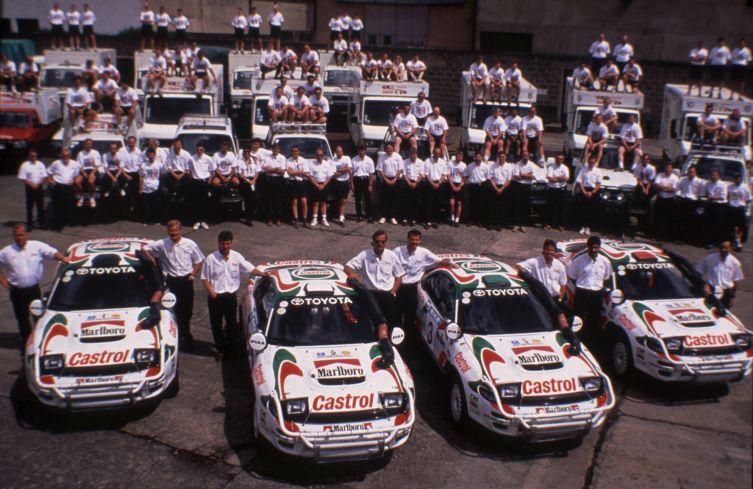 EAK93 Toyota lineup