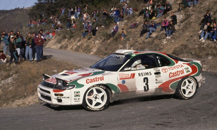 Image result for castrol celica rally car