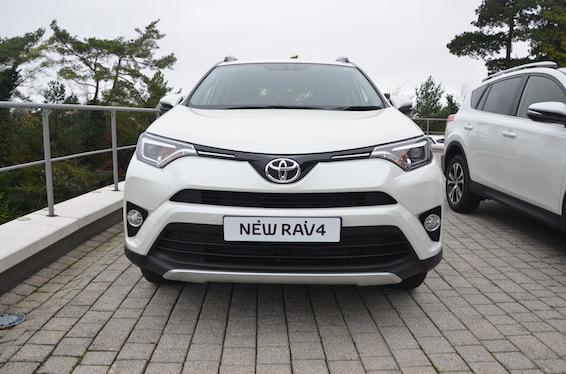 New RAV4 front