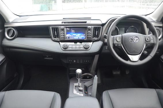 New RAV4 interior
