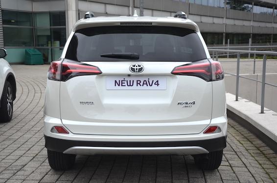 New RAV4 rear