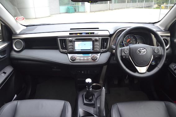 Old RAV4 interior