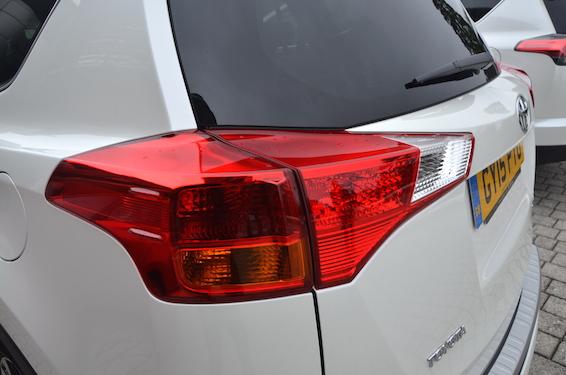 Old RAV4 rear light