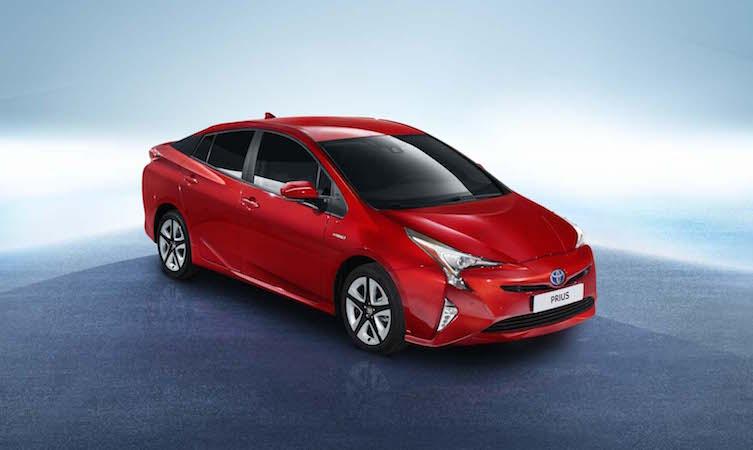 Toyota Prius 2016 red