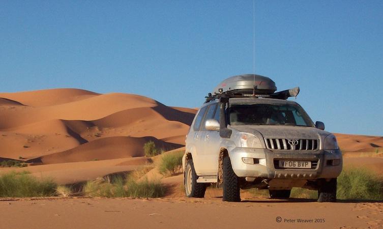 Peter Weaver Land Cruiser Morocco