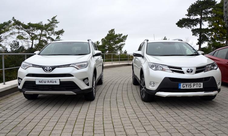 Toyota RAV4 mk4 and mk4.5