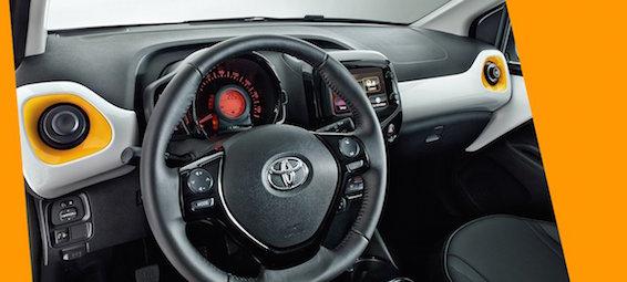 Toyota Aygo Amazon Edition interior