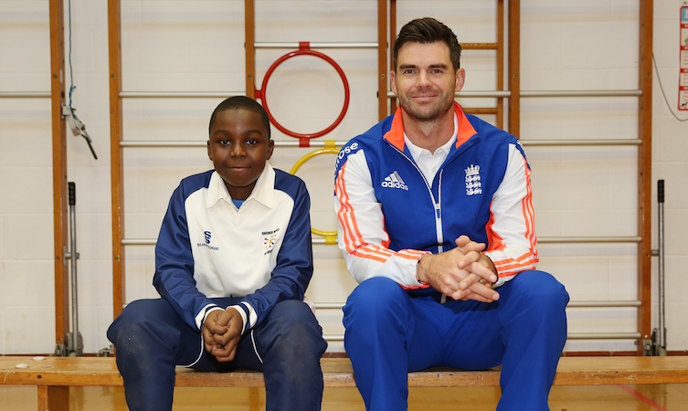 James Anderson Toyota Future of Cricket