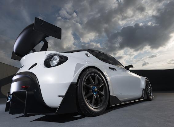 Toyota S-FR race concept rear