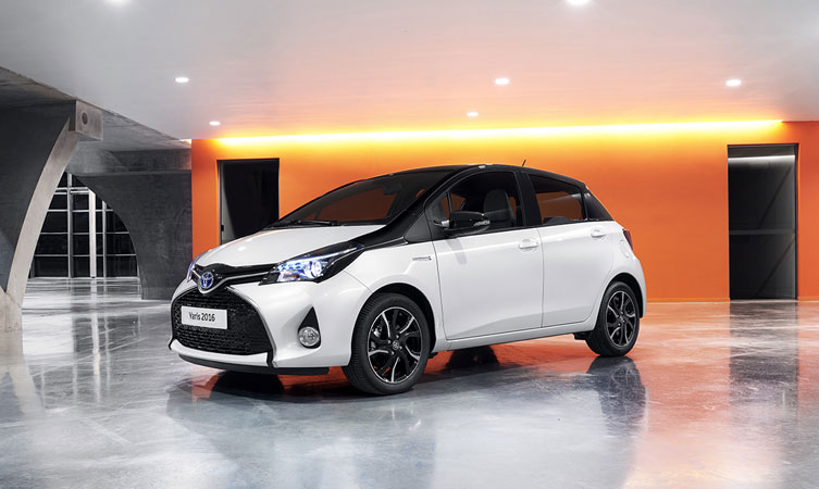 toyota yaris design leads new range for 2016   toyota