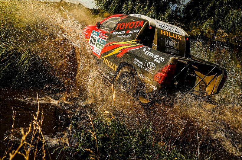 Leeroy Poulter Hilux Dakar Rally 2016