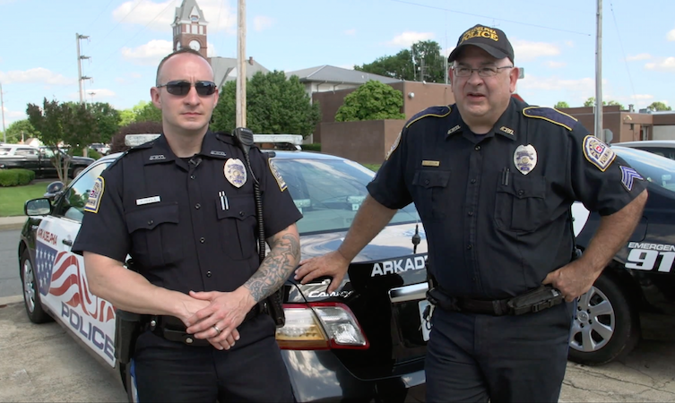 Arkadelphia Police Department Toyota Camry Hybrid