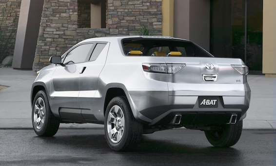 Detroit Toyota A-BAT concept 2