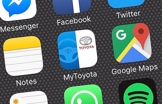 My Toyota Europe app iOS