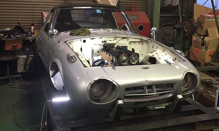 Toyota Sports 800 restoration with a difference - Toyota