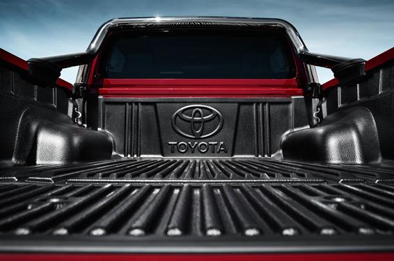 Toyota Hilux loadbay