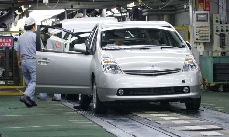 Prius 2 assembly