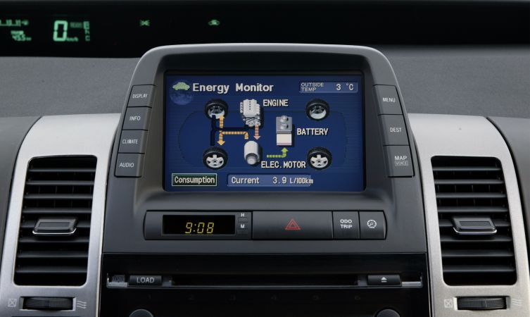 Prius 2 display