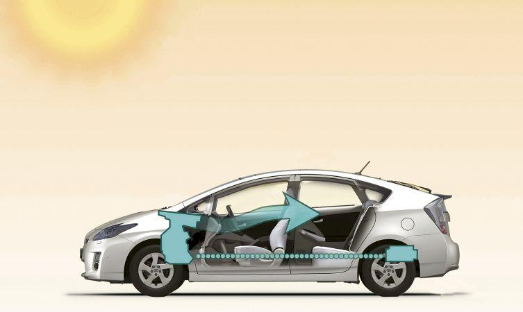 Prius 3 aircon