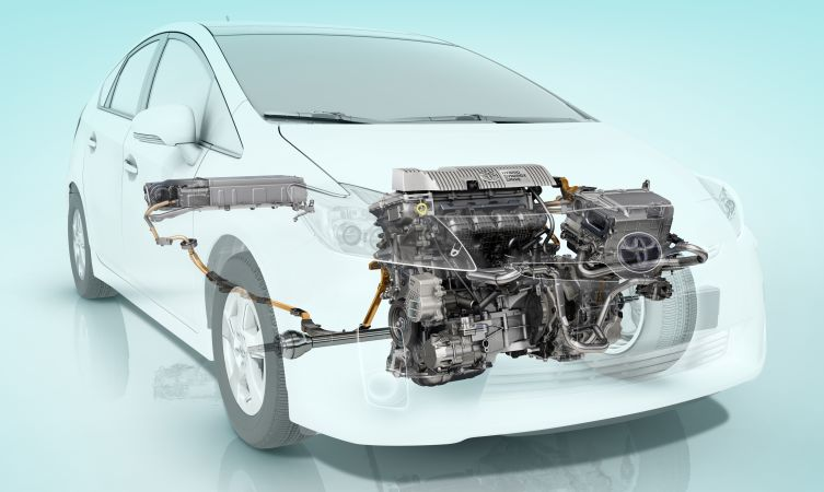 Prius 3 powerplant