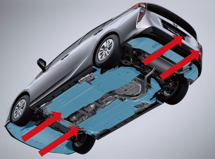Prius Pillars Styling 02