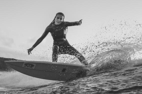 Sophie Hellyer surfer