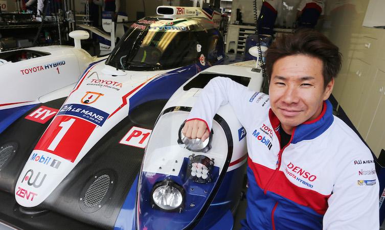 Kamui Kobayashi Toyota Gazoo 2016