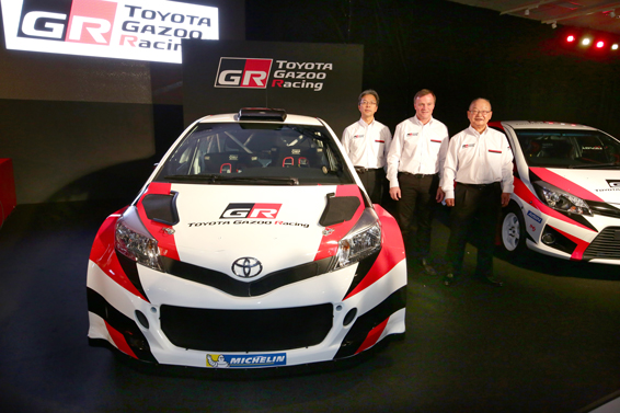 Tommi Mäkinen and the Toyot Yaris WRC