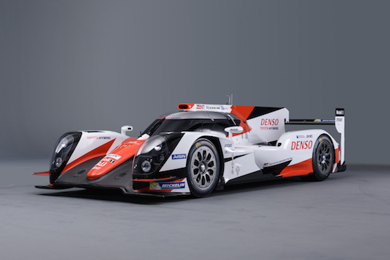 Toyota Gazoo Racing 2016 colours on TS040 Hybrid
