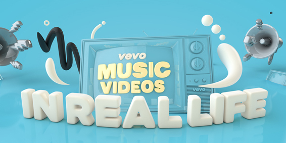 Vevo Music Videos in real life