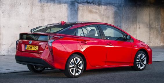 2016 Toyota Prius - static rear