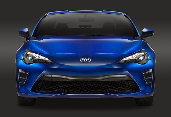2017 Toyota GT86 front