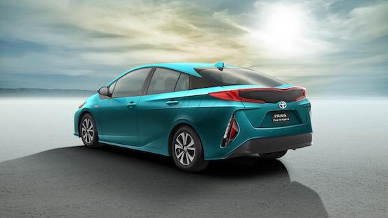 2017 Toyota Prius Plug-in rear