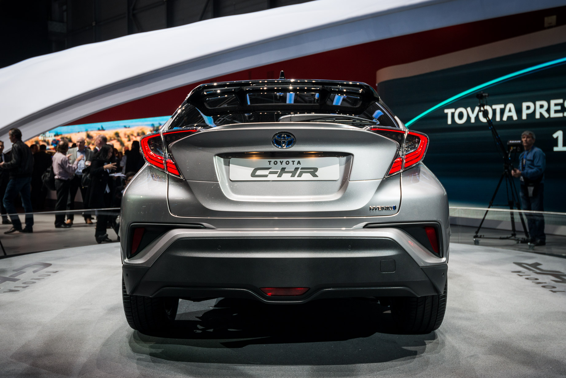Toyota C-HR Rear