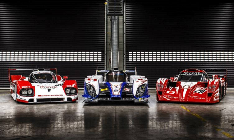 history of toyota 39 s le mans race cars toyota. Black Bedroom Furniture Sets. Home Design Ideas
