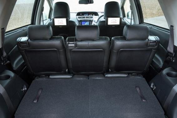 Toyota Prius+ Hybrid - boot