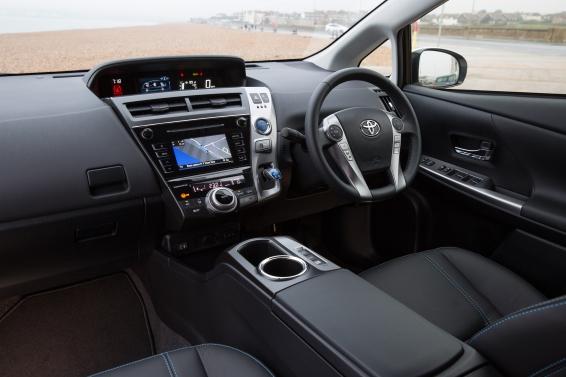 Toyota Prius+ Hybrid - interior