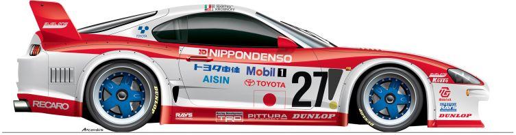 Toyota-1995-Supra-n27 Le Mans