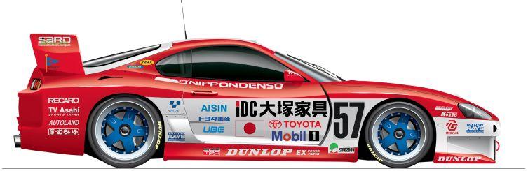 Toyota-1996-Supra-n57 Le Mans
