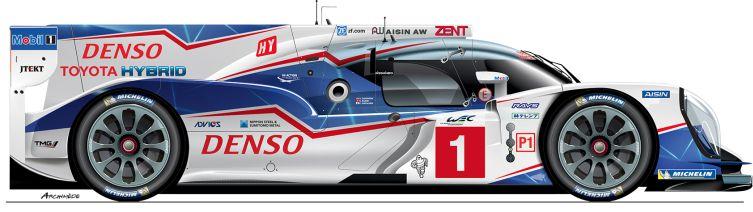 Toyota-2014-TS 040-LMP1-n7 Le Mans