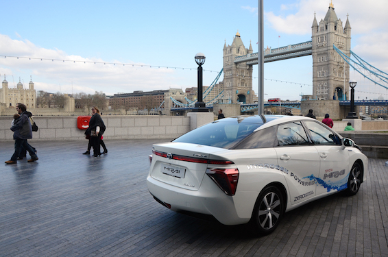 Toyota Mirai in London