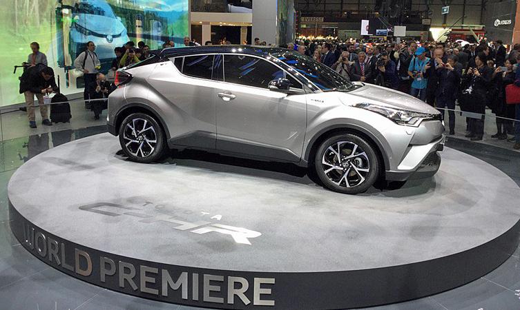 Toyota C-HR reveal