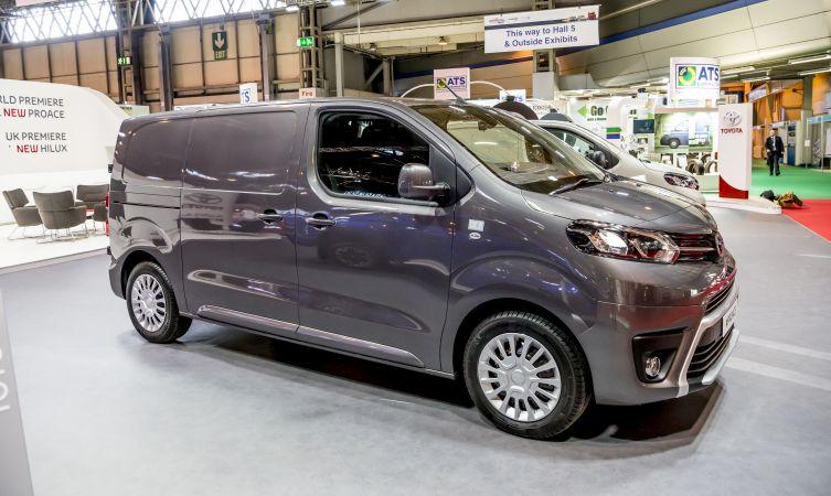Proace Van at CVS 06