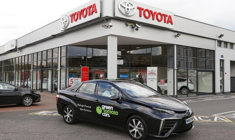 Toyota Mirai servicing