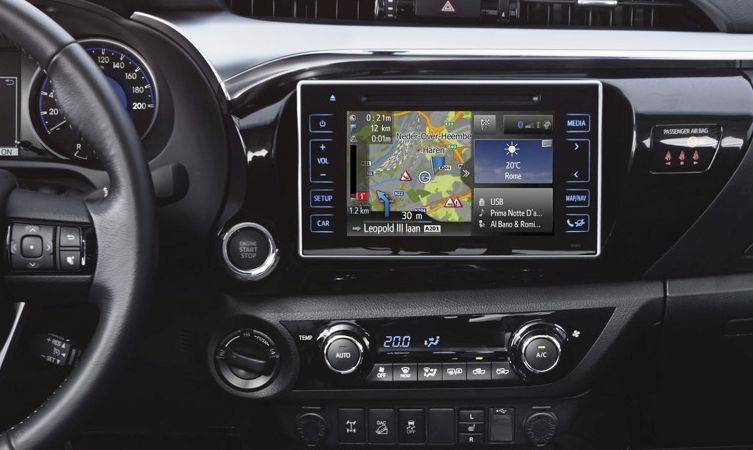 2016 Toyota Touch 2 With Go Multimedia System Toyota